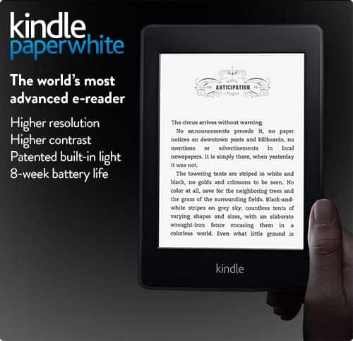 Canadian Subscriber Giveaway for a Kindle Paperwhite!