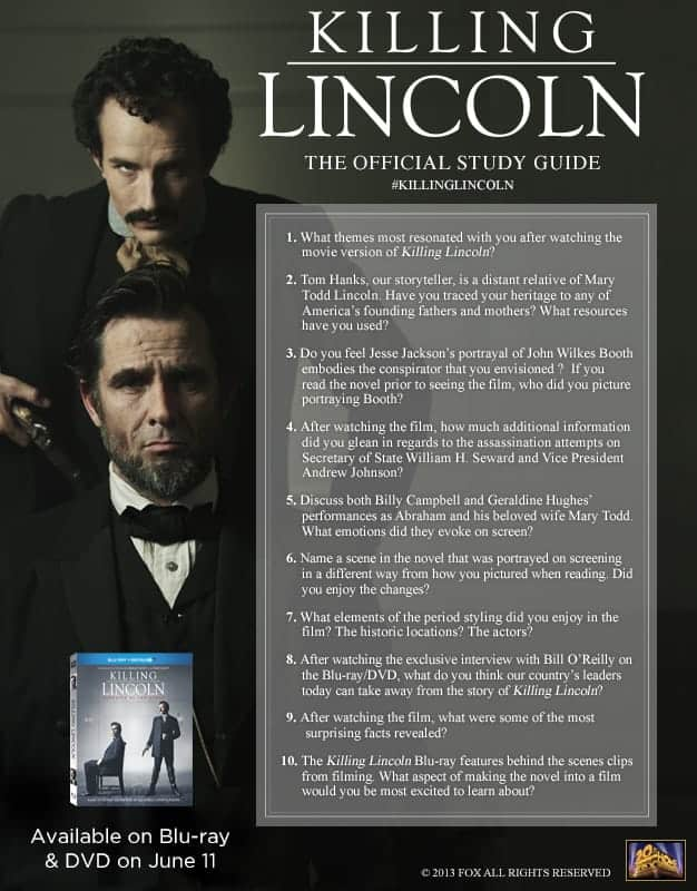 Killing Lincoln Official Study Guide