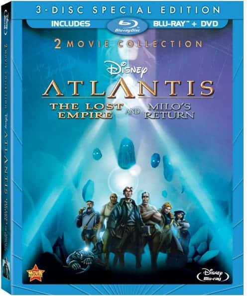 Atlantis: The Lost Empire 3-Disc Combo Pack Blu-ray Review