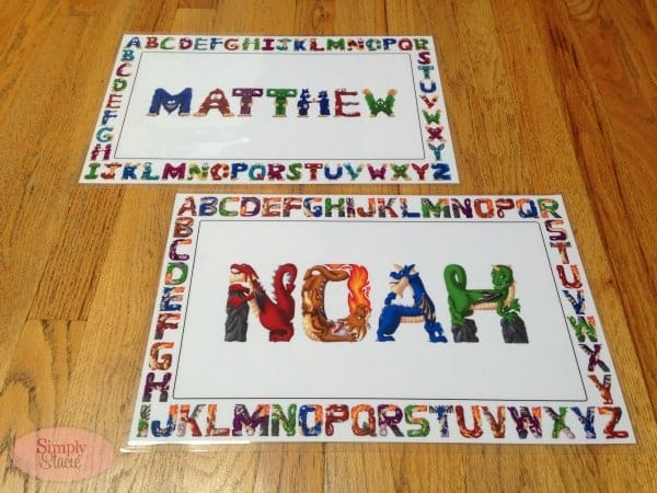 Name Art Review