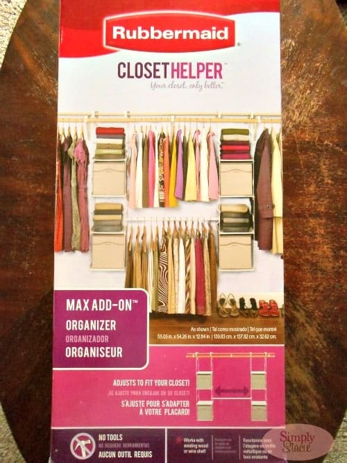 Rubbermaid Max Add-On Closet Helper System