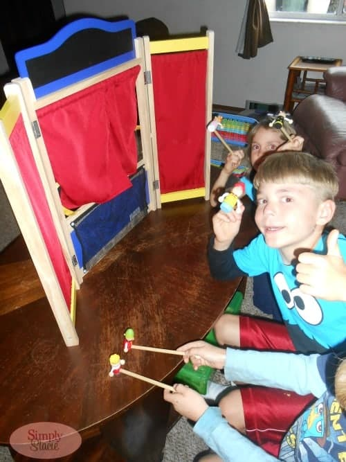 Guidecraft Wooden Tabletop Theater Review