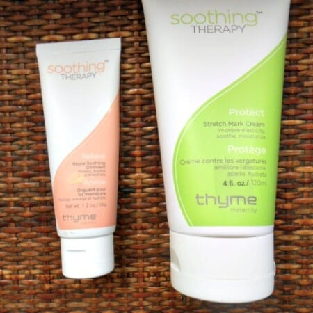Thyme Maternity Soothing Therapy Skin Care Collection Review