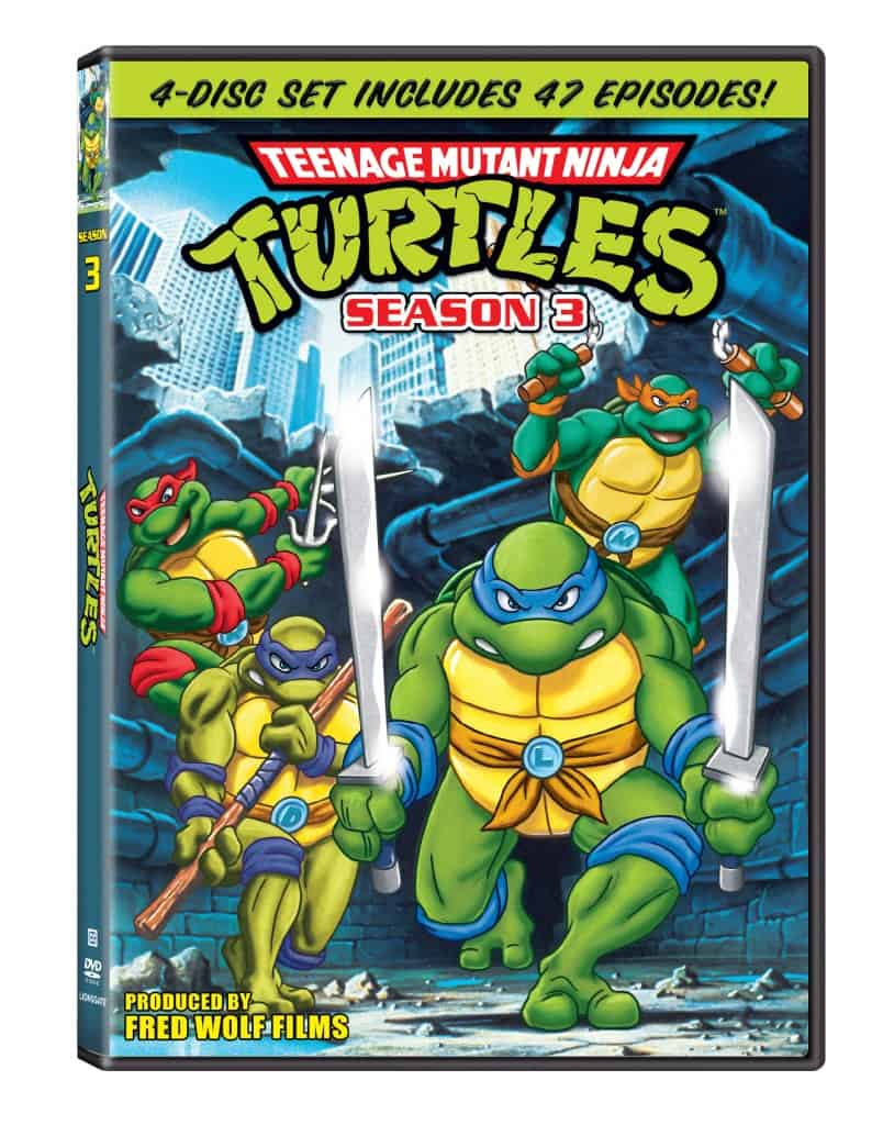 Teenage Mutant Ninja Turtles: Season 3 DVD Review
