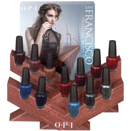 San Francisco by OPI Giveaway
