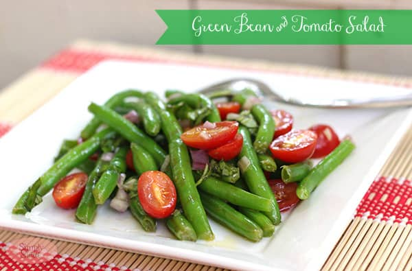 Green Bean & Tomato Salad Recipe - Simply Stacie