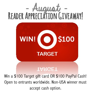 August Reader Appreciation Giveaway