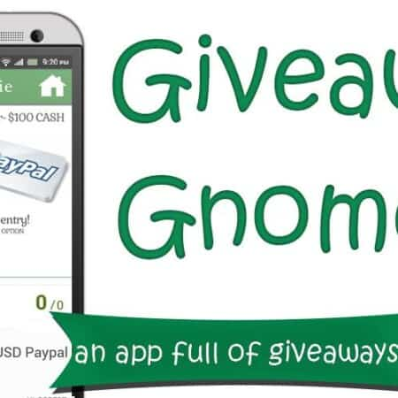 Giveaway Gnome   A Mobile App for Giveaways
