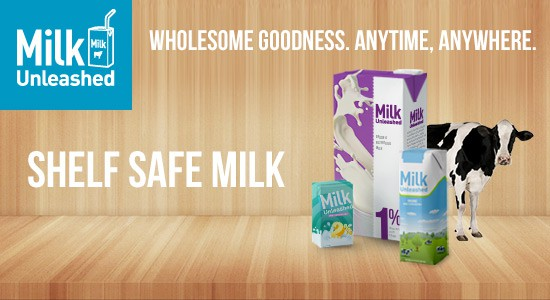 Drink Your Milk Unleashed #milkunleashed