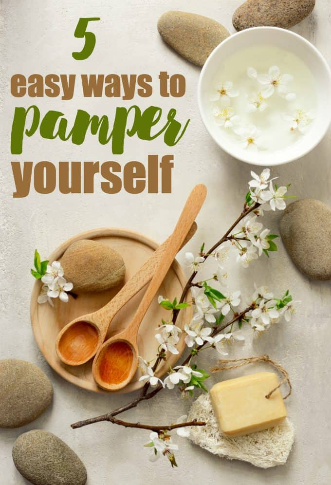 5 Easy Ways to Pamper Yourself - Even the little things can make a difference in your stress levels.
