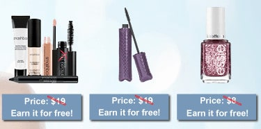 Earn Free Makeup with PrettyPriceless