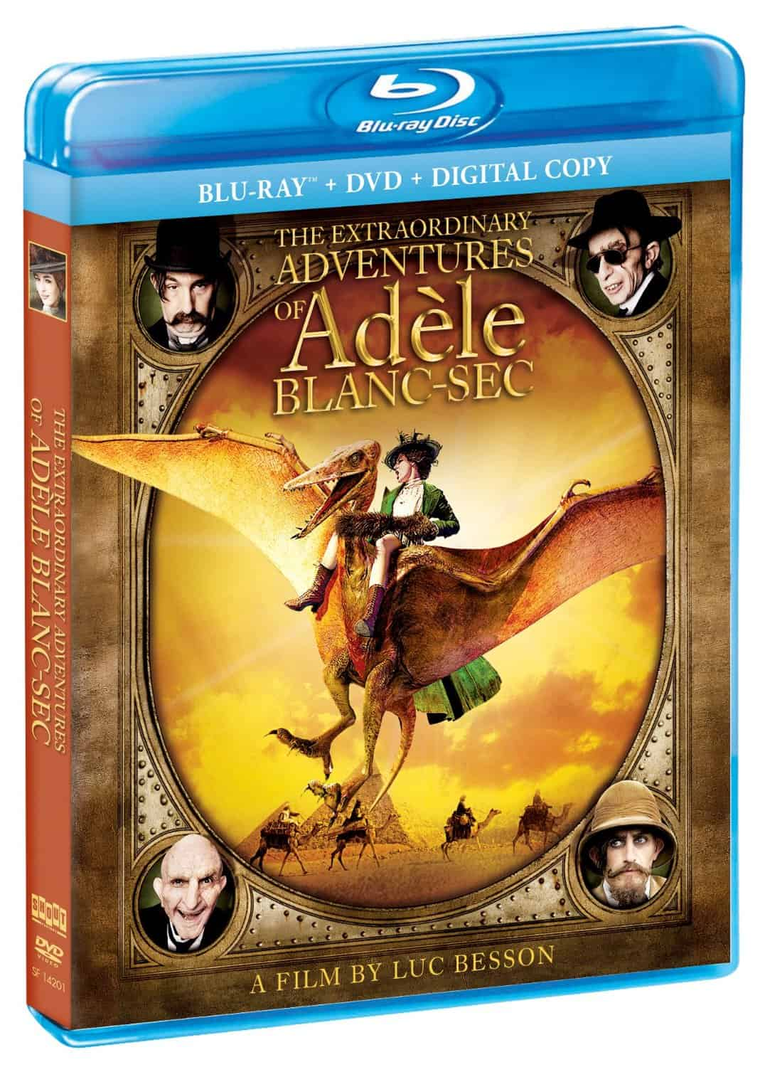 The Extraordinary Adventures of Adele Blanc-Sec Blu-Ray Combo Pack Review