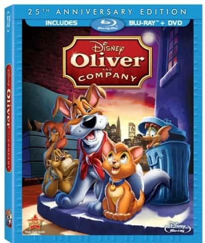 25th Anniversary Edition Disney's Oliver & Company Blu-ray