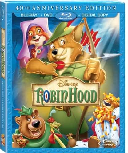 Disney's Robin Hood Blu-ray and DVD Combo Pack Review