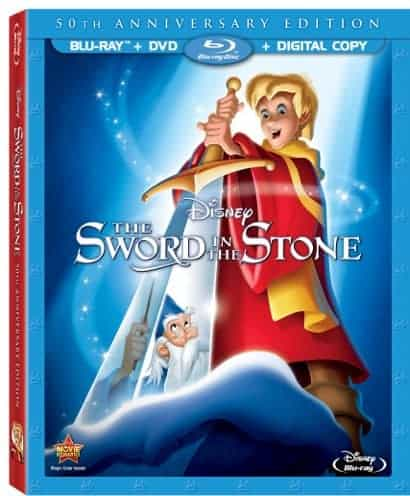Disney's Sword in the Stone 50th Anniversary Blu-ray Combo Pack Review