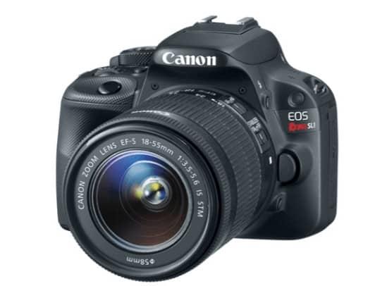 Canon EOS Rebel SL1 DSLR Giveaway