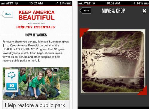 Donate a Photo App