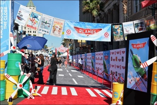On the Red Carpet of Disney's Planes #DisneyPlanesPremiere