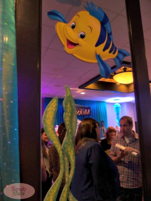 The Little Mermaid Consumer Products Cocktail Party and Dinner #TheLittleMermaidEvent