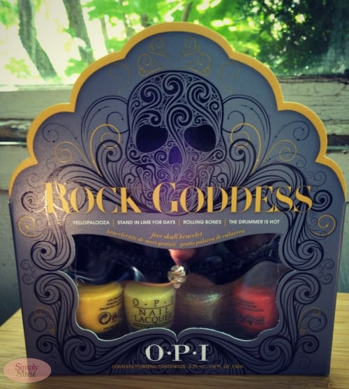 OPI Rock Goddess Mini Lacquer Set