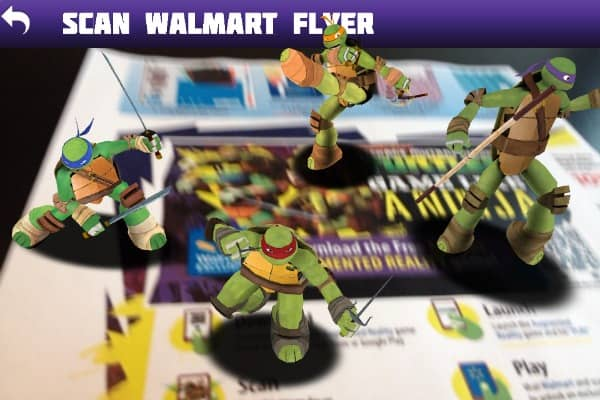 Bringing the Teenage Mutant Ninja Turtles to Life at Walmart Canada
