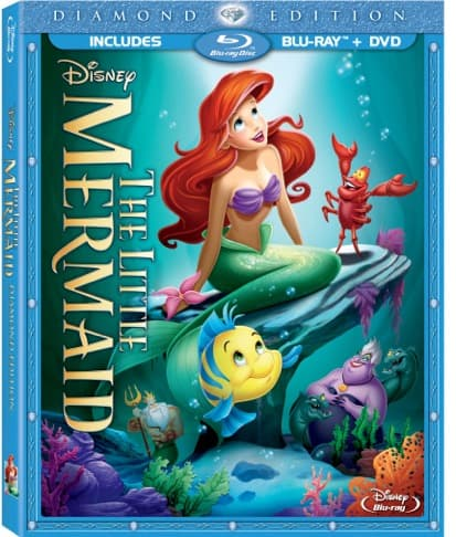 Disney's The Little Mermaid Blu-ray Combo Pack Review #LittleMermaidEvent #DisneyPlanesPremiere