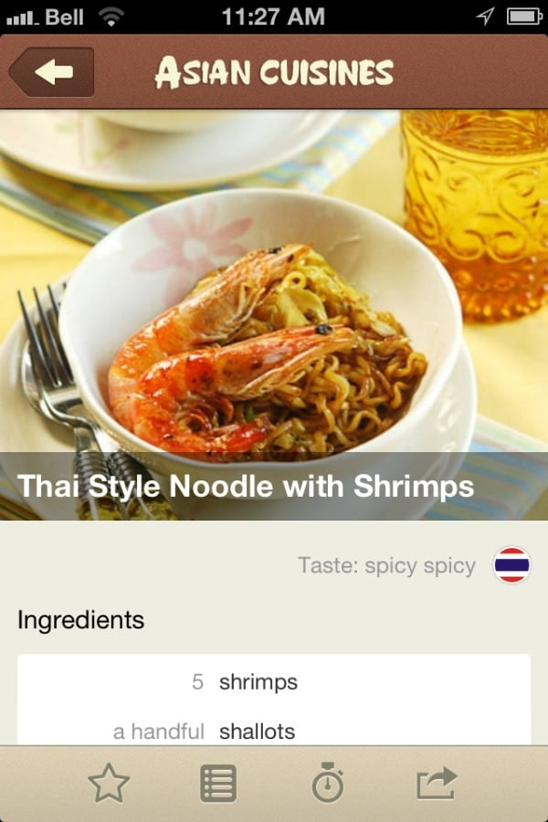 Free Asian Cuisine Recipes App