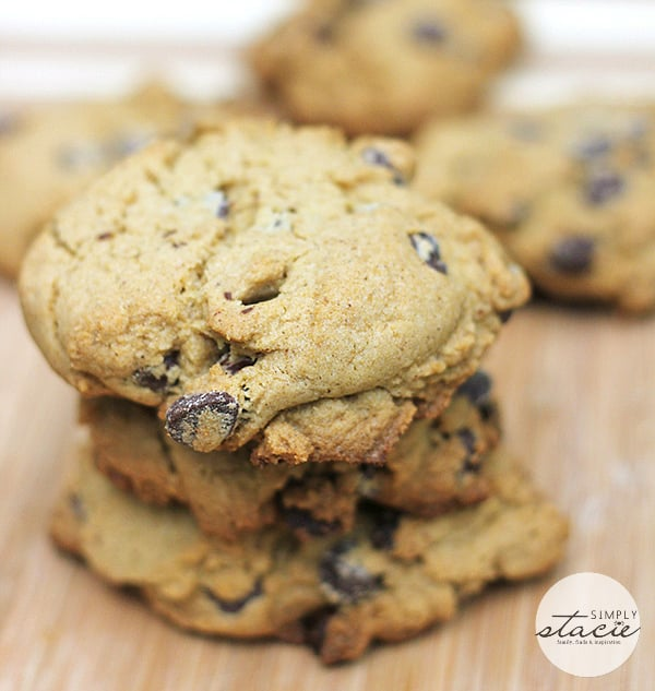The Ultimate Gluten Free Chocolate Chip Cookie - Moist, chocolatey and delish!
