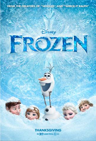 A Sneak Peek + Trailer Debut for Disney's Frozen #DisneyPlanesPremiere #LittleMermaidEvent