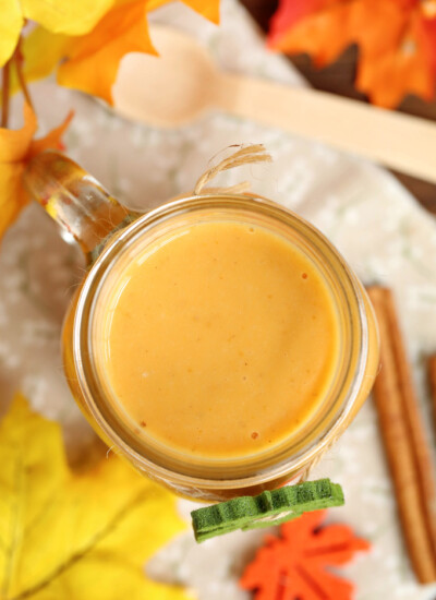 Pumpkin Pie Smoothie - Tastes just like the pie itself!