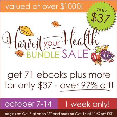 Save HUGE on the Harvest Your Health Bundle Sale!
