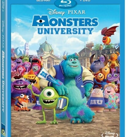 Monsters University Blu-ray Combo Pack Review #MUScareGames