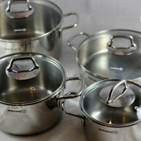 Korkmaz Perla 8 Piece Cookware Set