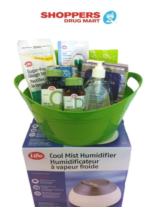 Shoppers Drug Mart Cold and Flu Defense Kit