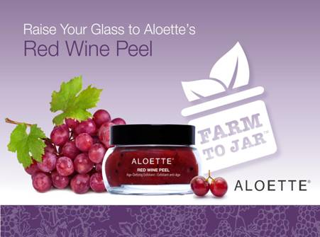 Aloette Red Wine Peel Review