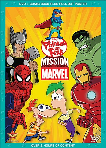 Phineas and Ferb: Mission Marvel DVD Review
