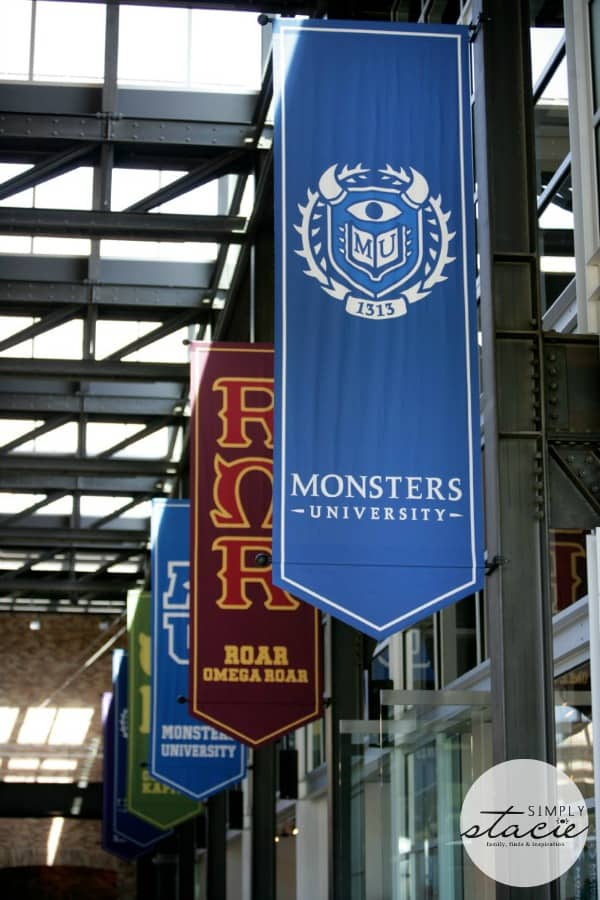 A Peek Inside Pixar for Monsters University #MUScareGames