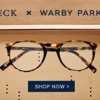 Warby Parker & Beck Limited Edition Frames