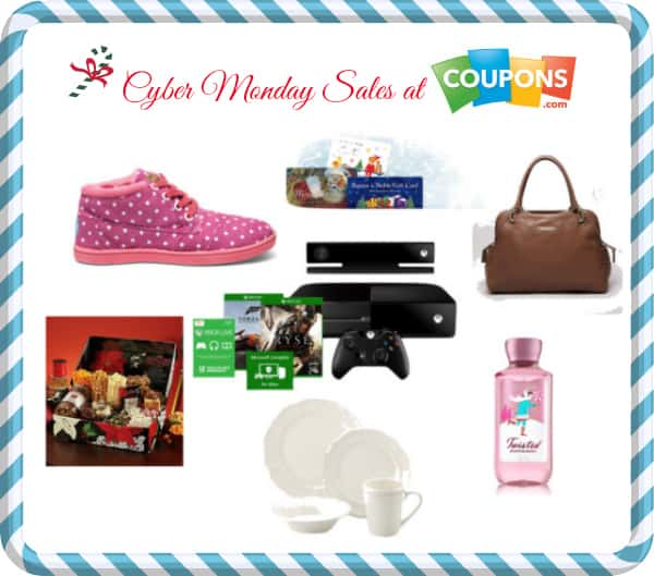 Cyber Monday Sales at Coupons.com