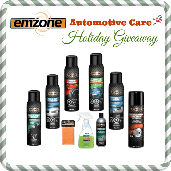 emzone Automotive Care Holiday Giveaway