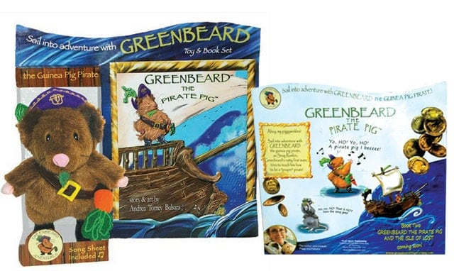 Greenbeard the Pirate Pig Toy & Book Set Review