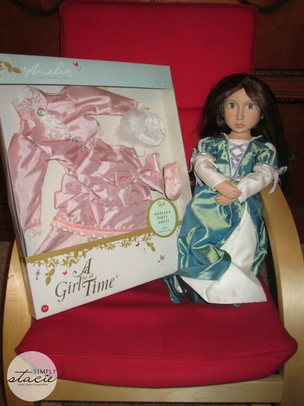 A Girl For All Time Holiday Doll Review