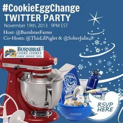 #CookieEggChange Twitter Party
