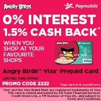 Angry Birds™ Visa® Prepaid Card