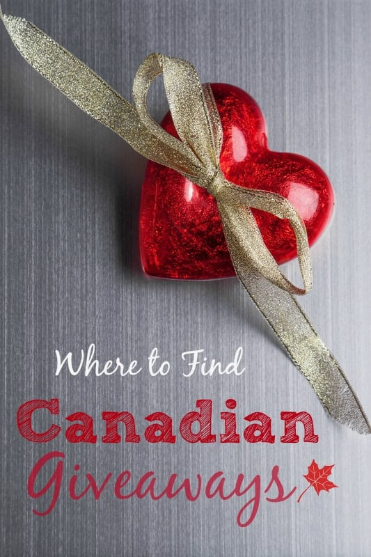 Where to Find Canadian Giveaways