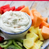 Cinnamon Cream Cheese Dip