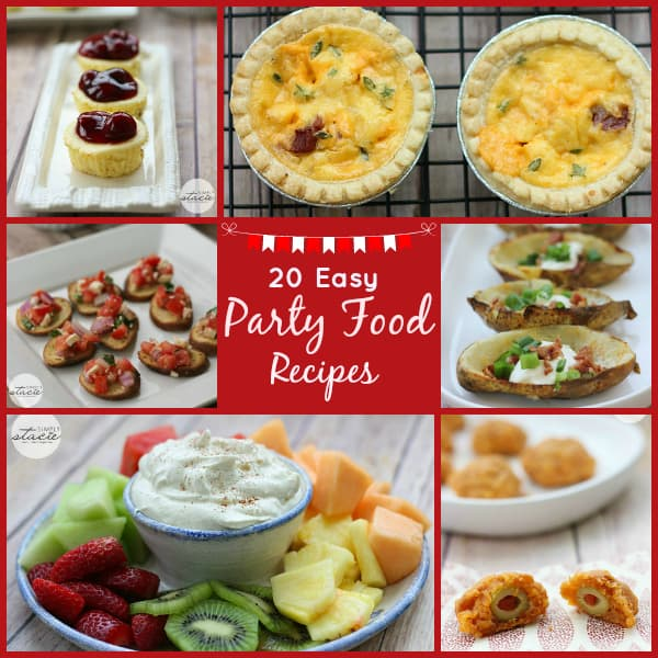 20 Easy Party Food Recipes
