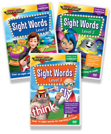 Rock 'N Learn Sight Words Review