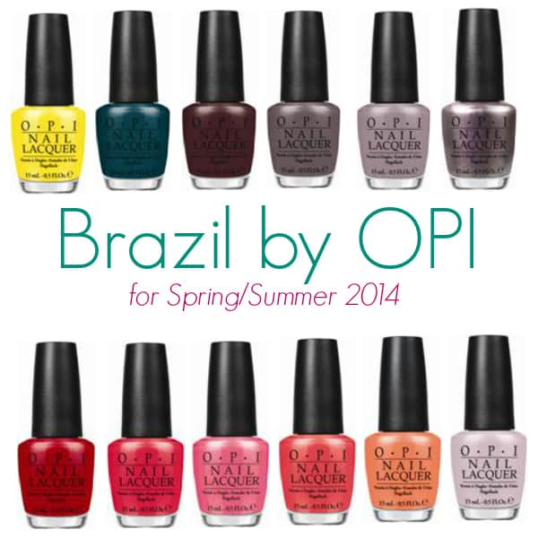 Brazil by OPI Giveaway