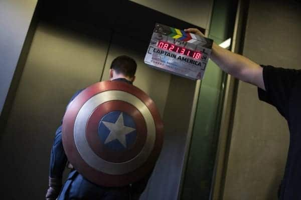 I Got to Meet Captain America's Shield! #ironman3event #WinterSoldier
